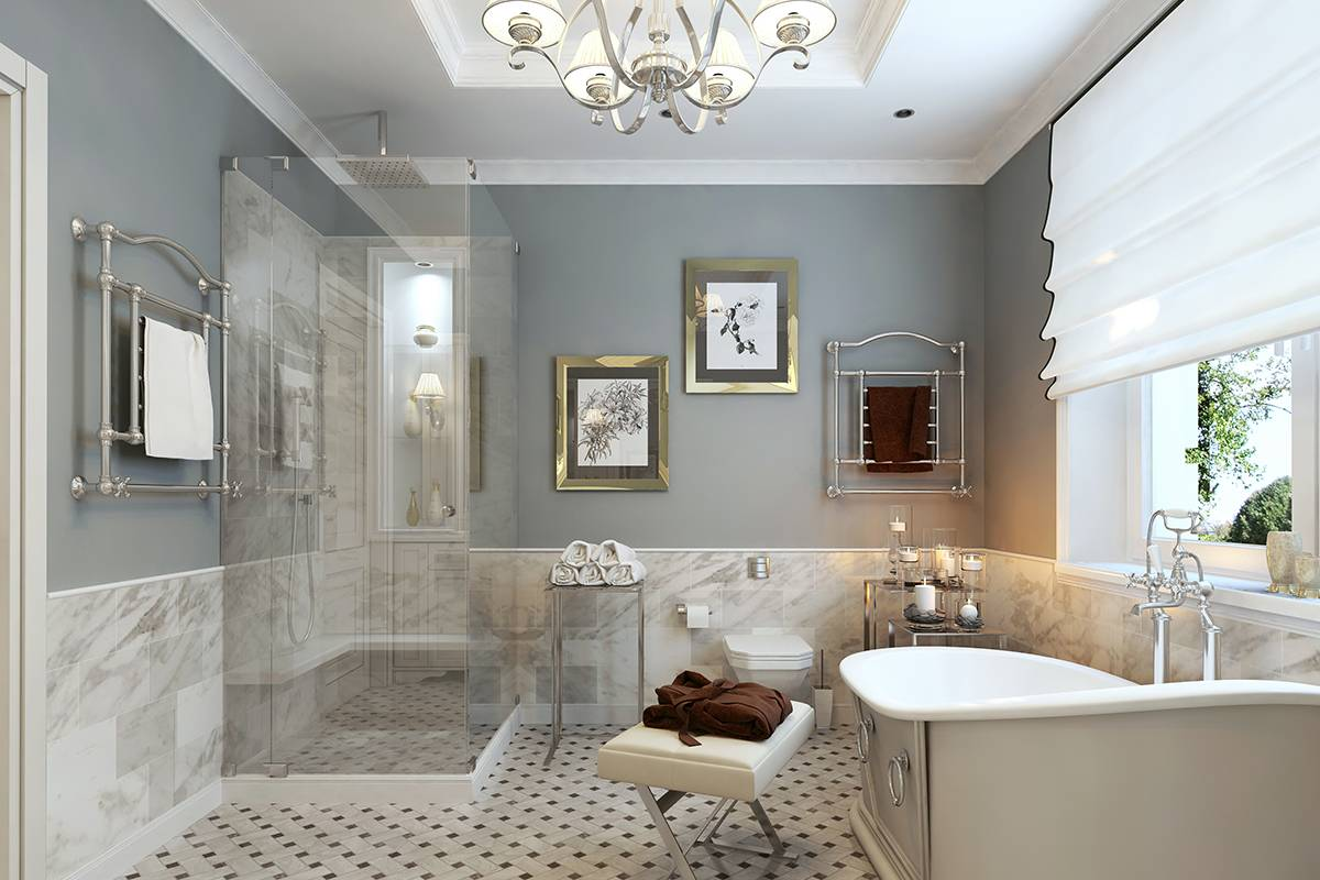 Bathroom classic style g everett for Bathroom remodeling columbia md