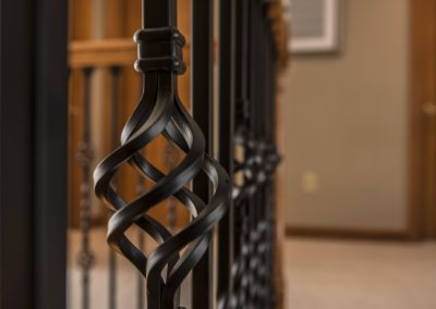 Iron Spindles for Stairwell