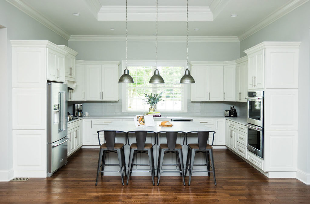 Picking the perfect cabinet paint color